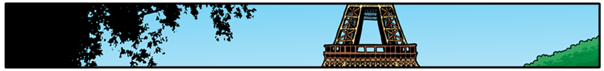 Header image of the Eiffel Tower, from the first strip.